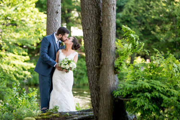 Backyard Lakeside Wedding in Washington, NH