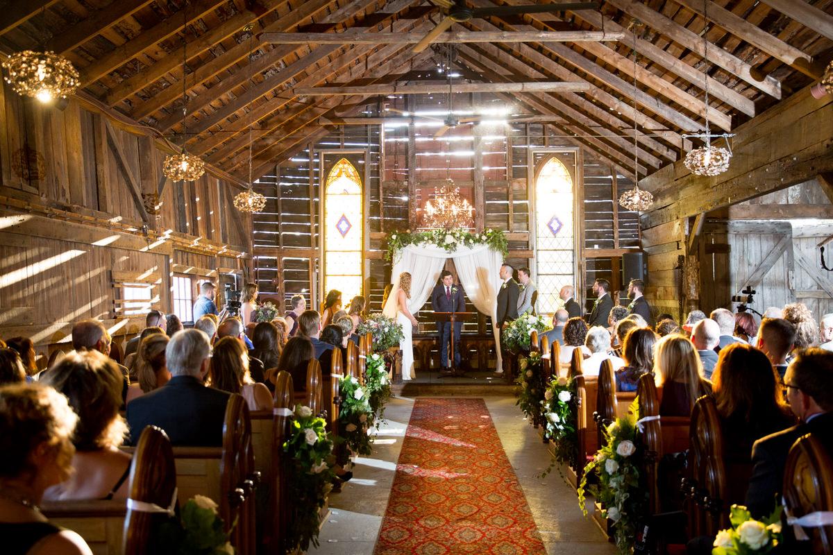 Breathtaking Barn Wedding at Bishop Farm in Lisbon, NH